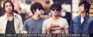 CNBLUE LIVE IN LONDON