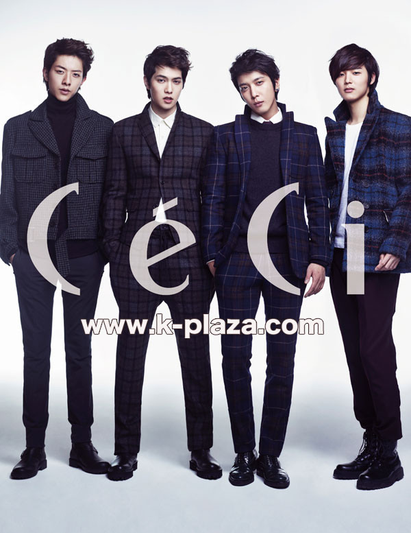 cnblue ceci mag january 2013