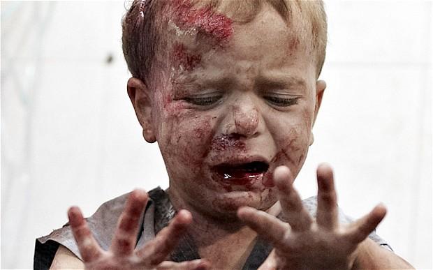 a kid syria