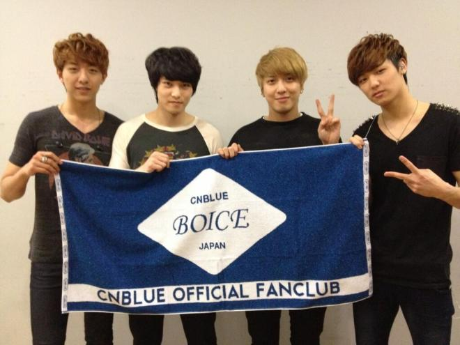 cnblue twitter update