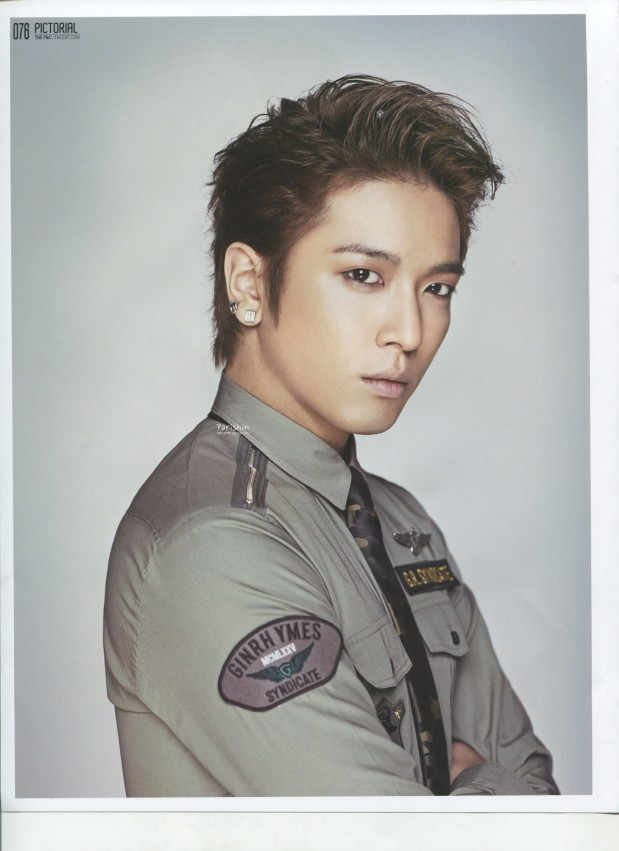 "CNBLUE The Fnc Magazine Volume 2, Jung Yonghwa, ""The Leader Said"""