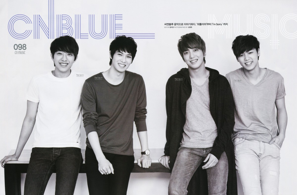 CNBLUE The  FNC Magazine Volume 2 Gallery