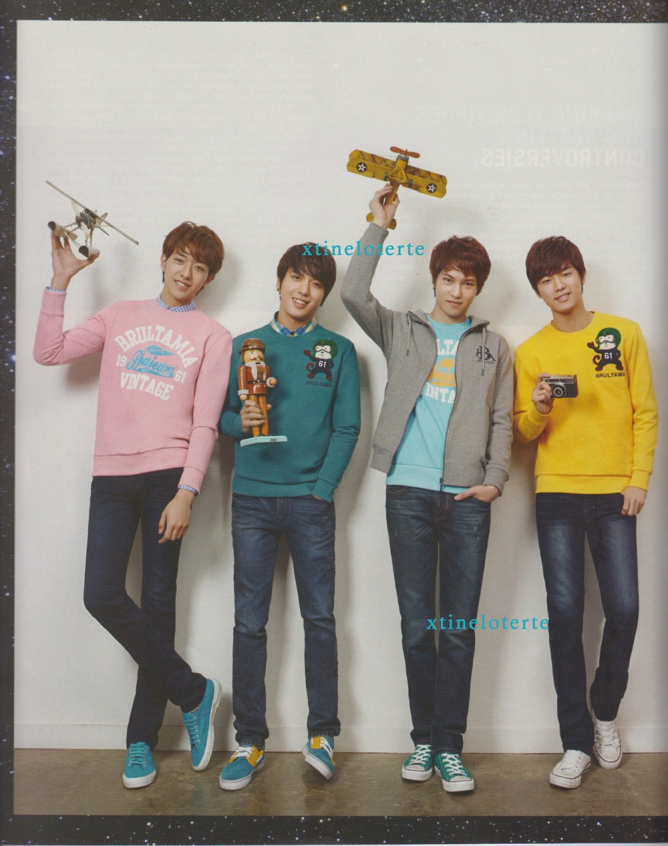 CNBLUE on PULP Magazine
