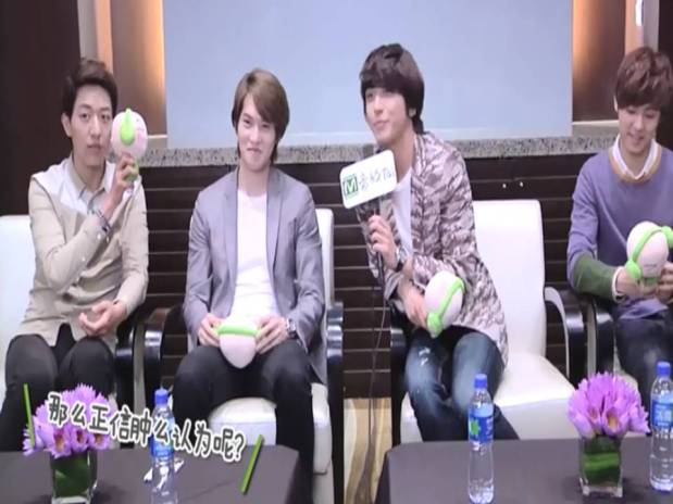 CNBLUE Yinyuentai Interview