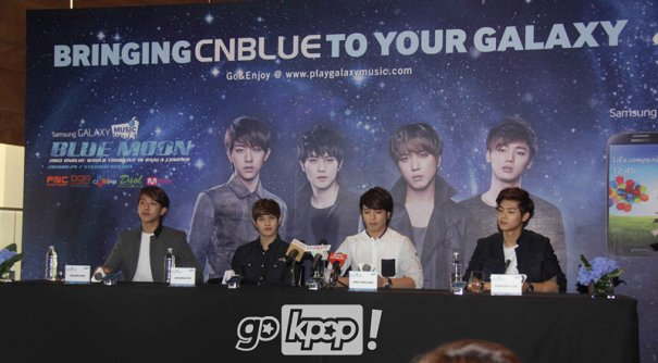 'Apa Khabar?' CNBLUE Greets thr Press Bafore Their World Tour in Malaysia