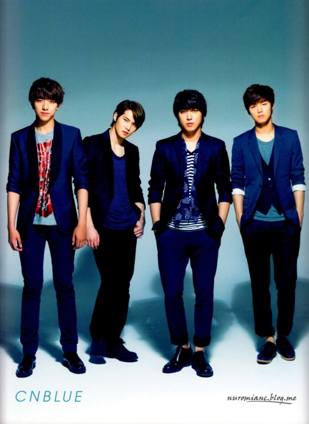 CNBLUE Interview on PATi PATi PRIME Volume 1, 2013 Issue