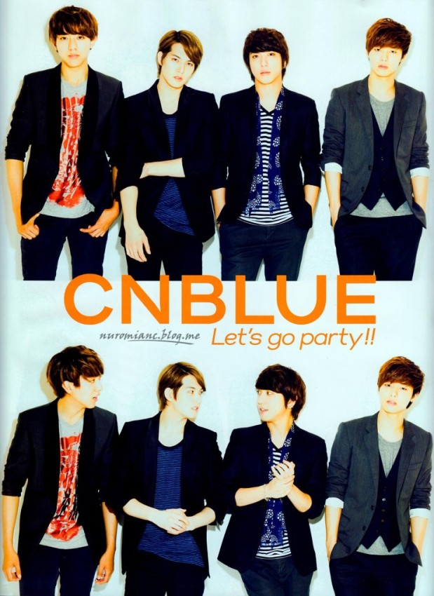 CNBLUE PATi PATi September 2013 Issue