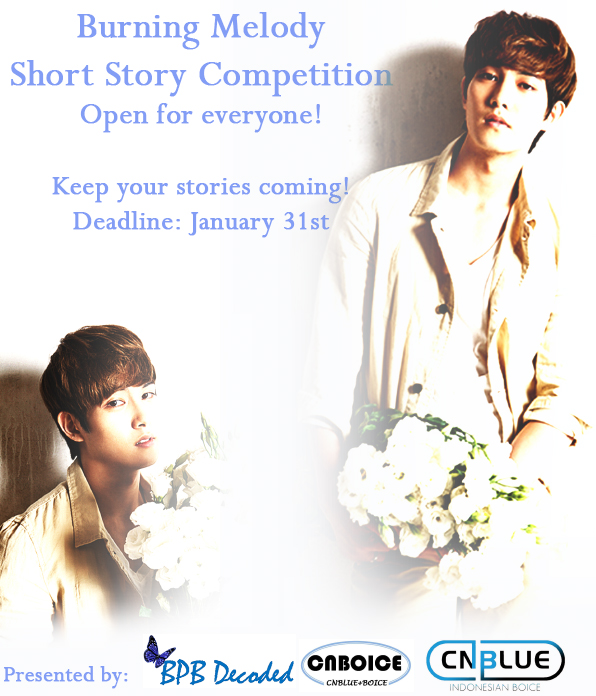 "Celebrating CNBLUE Lee Jonghyun 25th Birthday, ""Burning Melody Short Story Competition"""